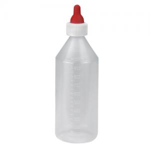 Bárányitató üveg, cumival, 1 l