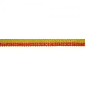 Villanypásztor szalag, sárga/narancs, 2 x 200m, 10mm, 11 ohm/m, 60 kg